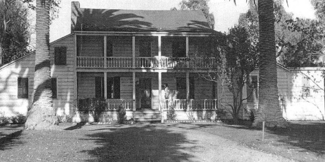 historical photo of martin murphy jr house in sunnyvale