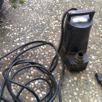 submersible pump 1200gph