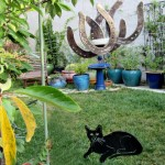 Cat and Horseshoe windchime