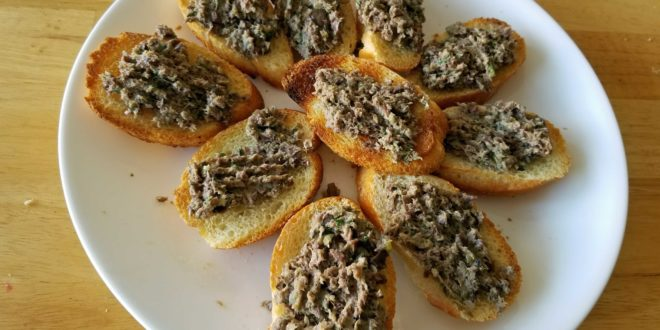 Olive-Anchovy-Capers Tapenade
